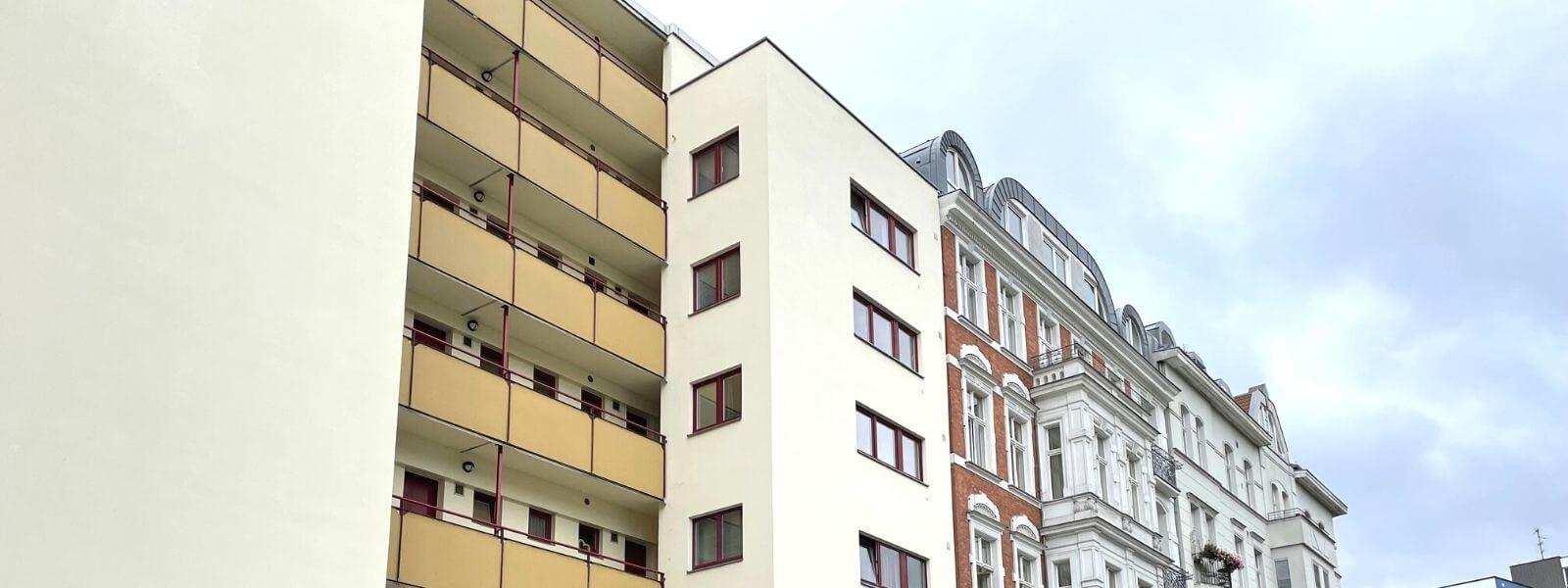 Mehrfamilienhaus in Berlin.