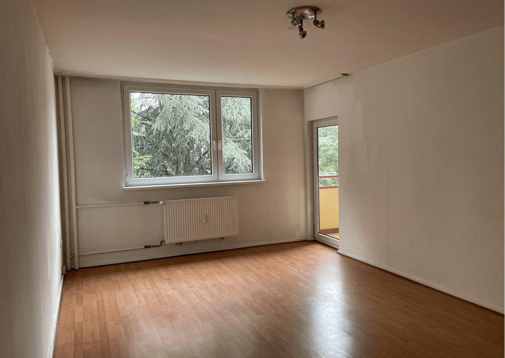 Helle 2 Zimmer Wohnung in Berlin in der Hauptstadt zu kaufen.